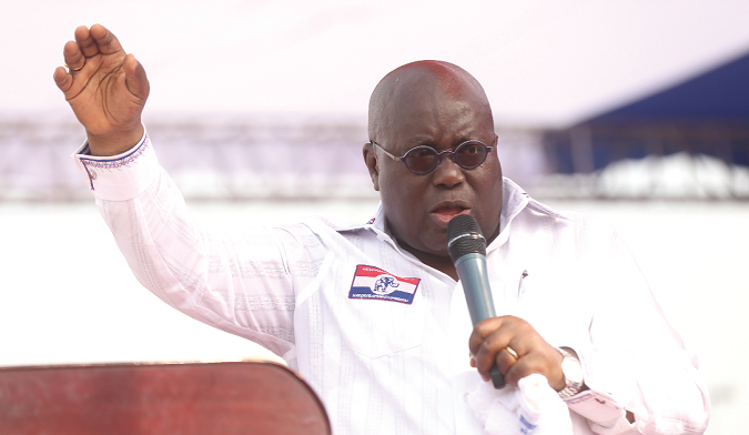 Double-Track SHS: Akufo-Addo labels NDC 'Pharisees' for spreading lies