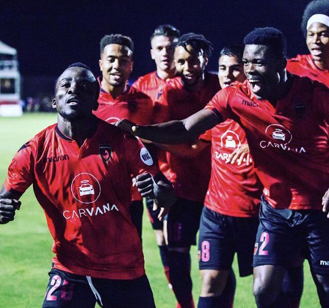 VIDEO: Solomon Asante's hat-trick not enough to save Phoenix Rising from defeat against Orange County SC