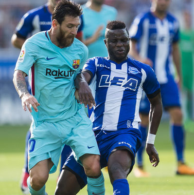 VIDEO: Watch how Messi mesmerized Wakaso and almost left him without a hip