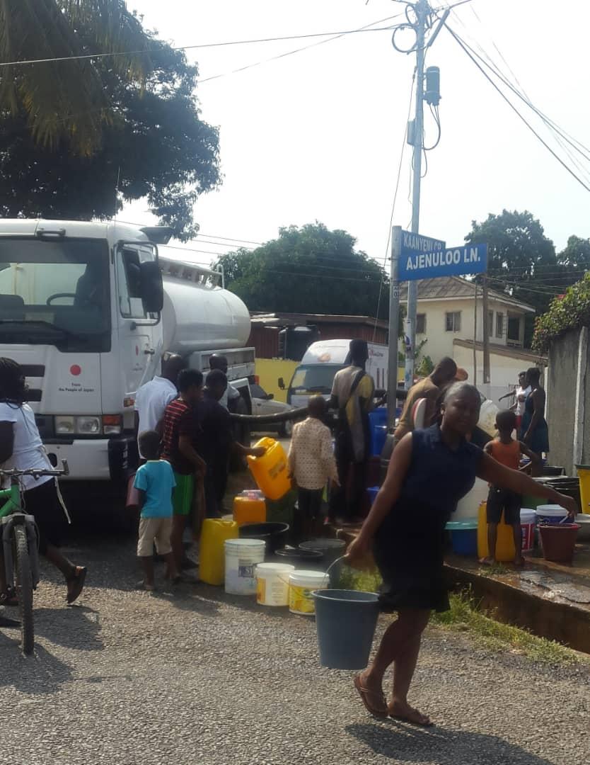 VIDEO: Water rationing hits Asylum Down