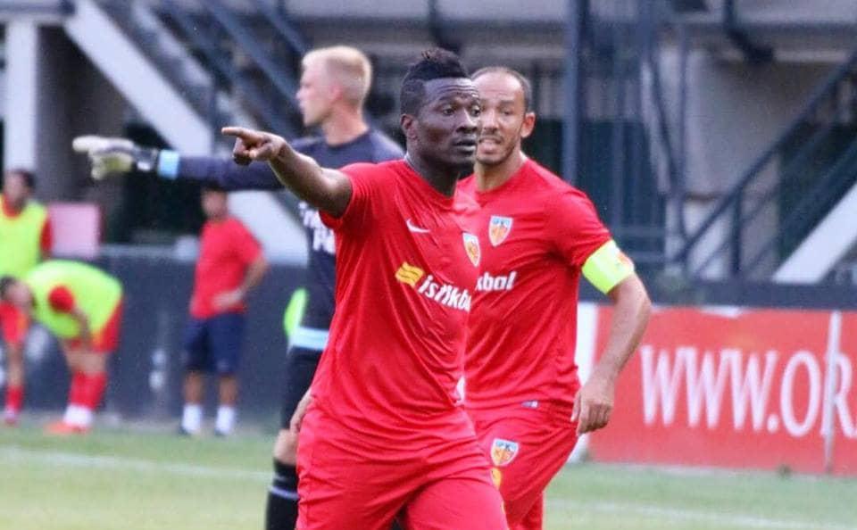 Frustrated Asamoah Gyan to leave Kayserispor in January - Anim Addo
