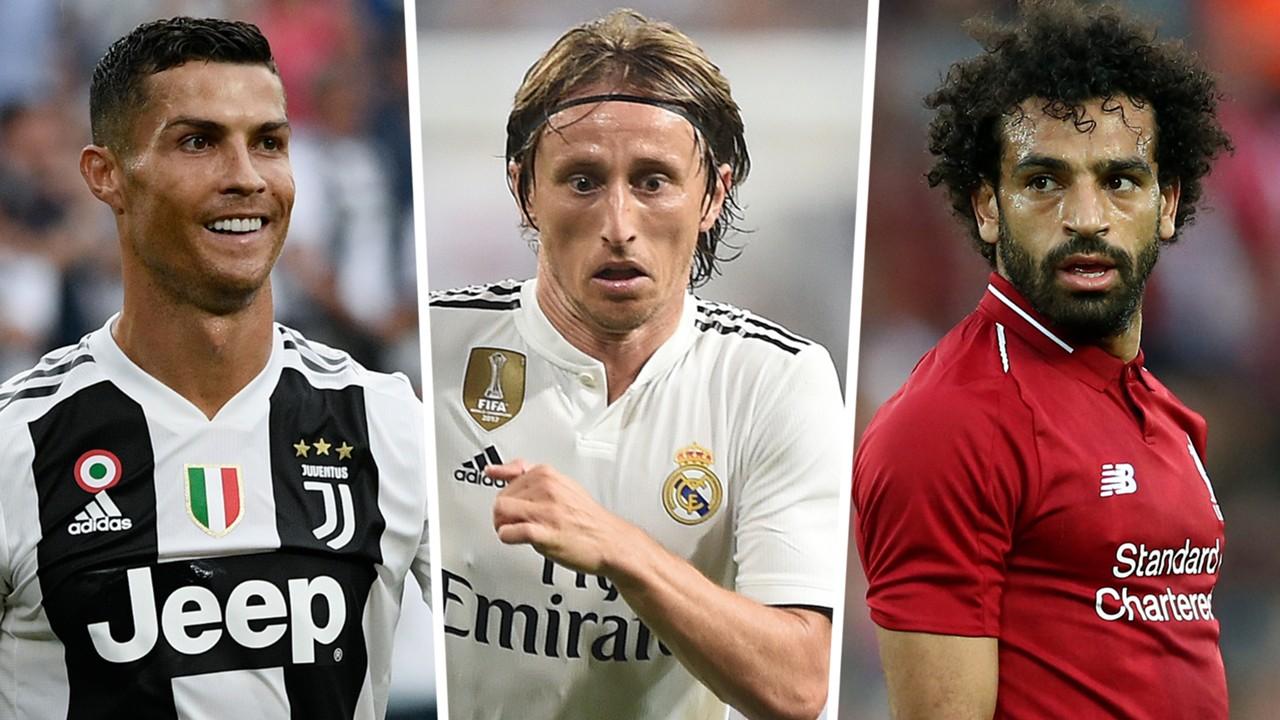 Ronaldo, Modric & Salah nominated for FIFA The Best Men's Player of the Year award