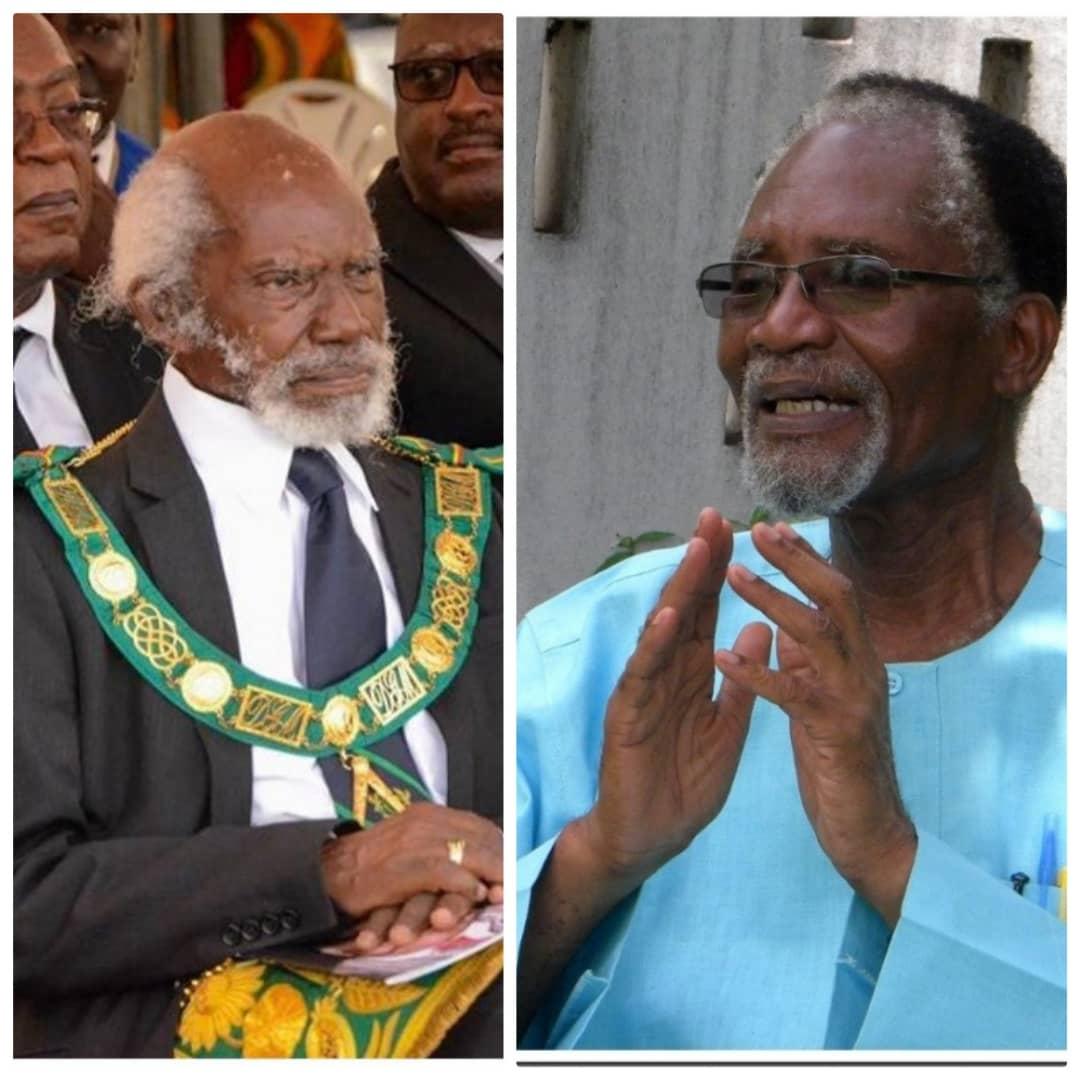 Ga Mantse eulogizes V.C.R.A Crabbe and Atukwei Okai