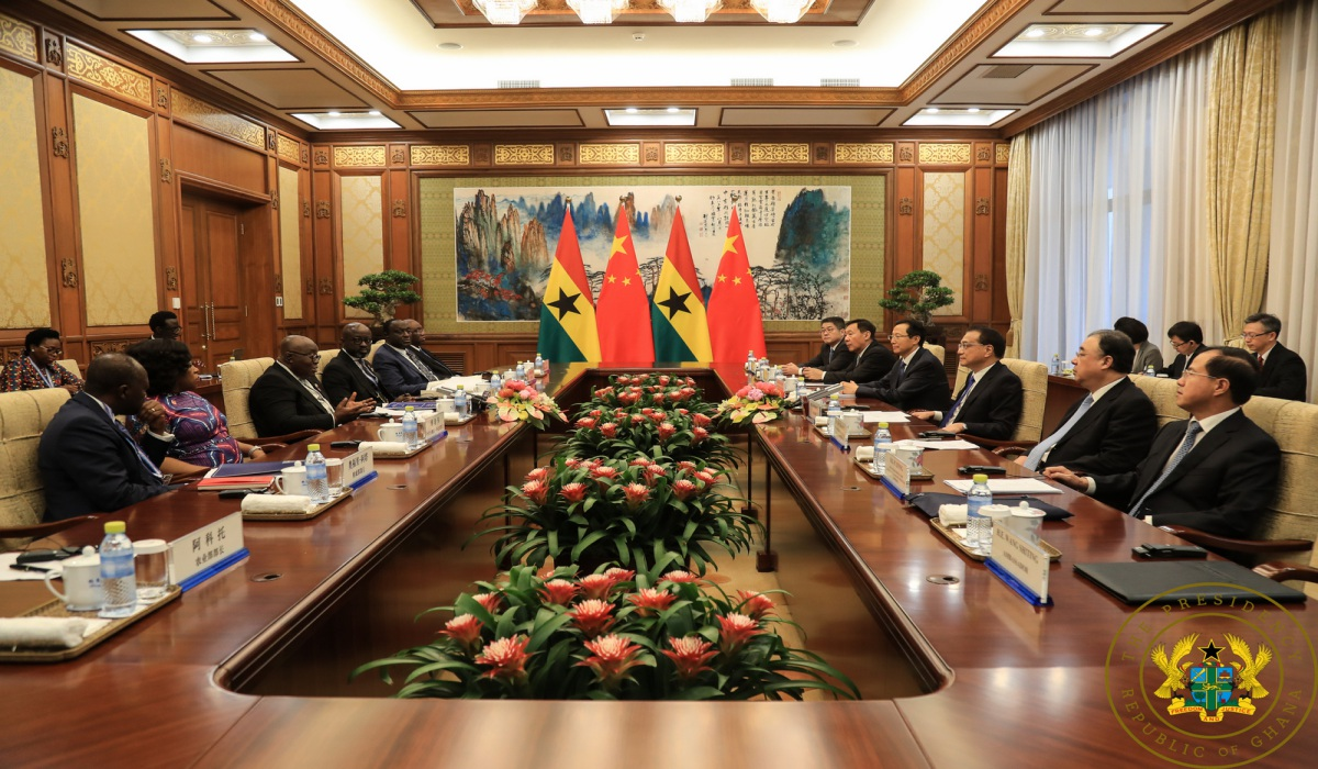 Ghana, China Sign Eight Co-Operation Agreements, MoUs