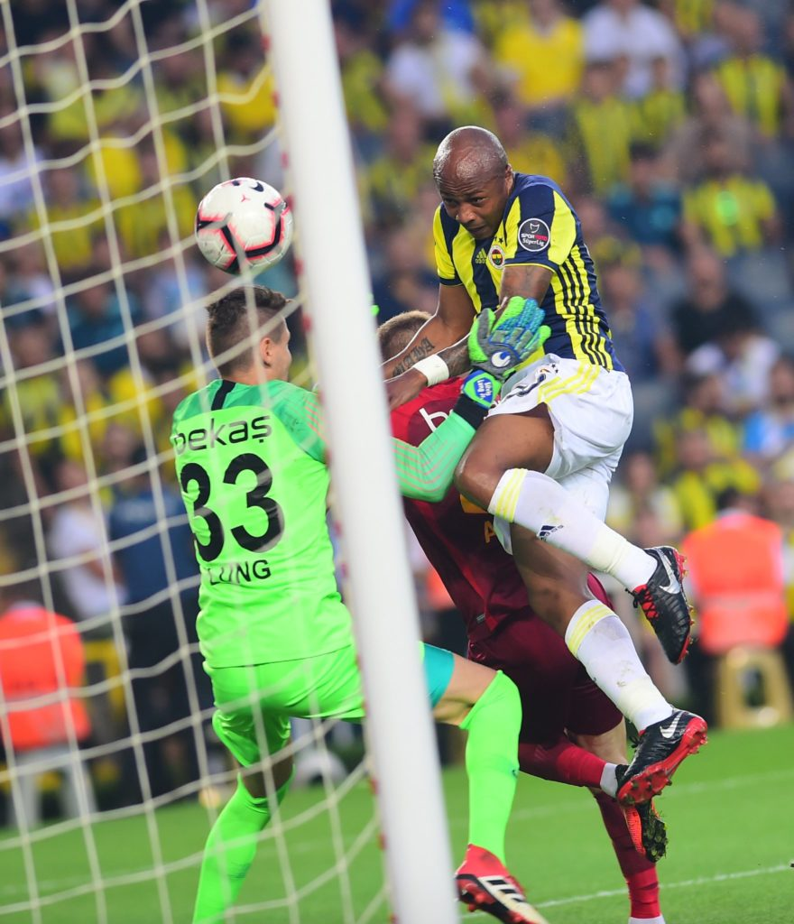 VIDEO: Ghana ace Andre Ayew scores his debut goal for Turkish giants Fenerbahce