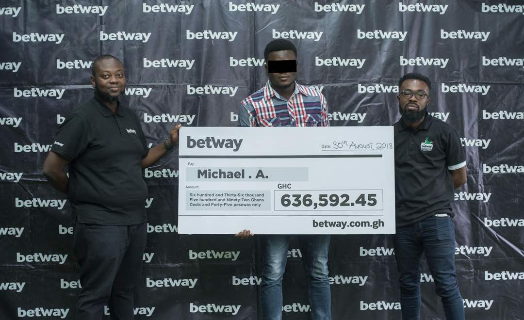 University student wins GH¢636,592 Betway jackpot