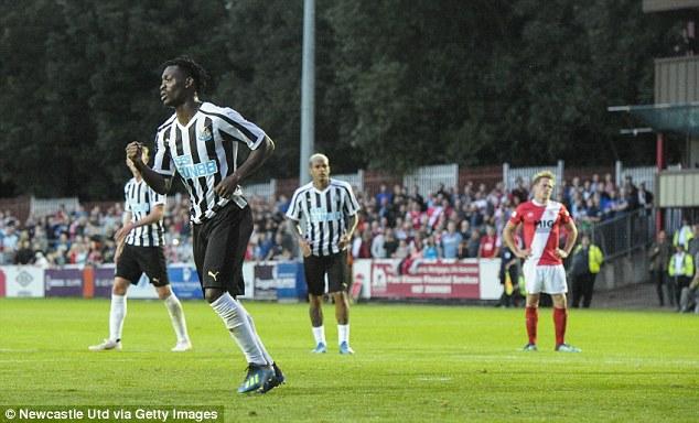 Newcastle United hero descends heavily on 'clueless' Christian Atsu
