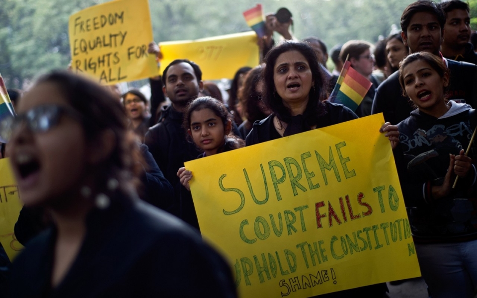 India's Supreme Court legalize gay sex in landmark ruling