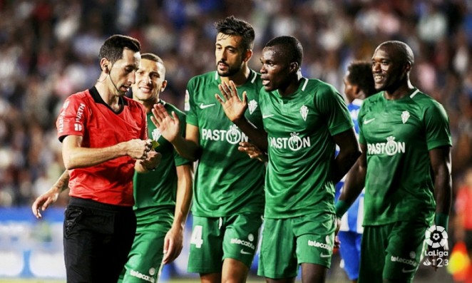 Ghana's Isaac Cofie ruled out of Sporting Gijon Copa del Rey clash against CD Numancia
