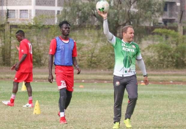Kenya coach Sebastien Migne lavishes praise on players after shock win over Ghana