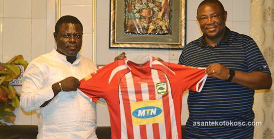 BREAKING NEWS: Paa Kwesi Fabin part ways with Asante Kotoko