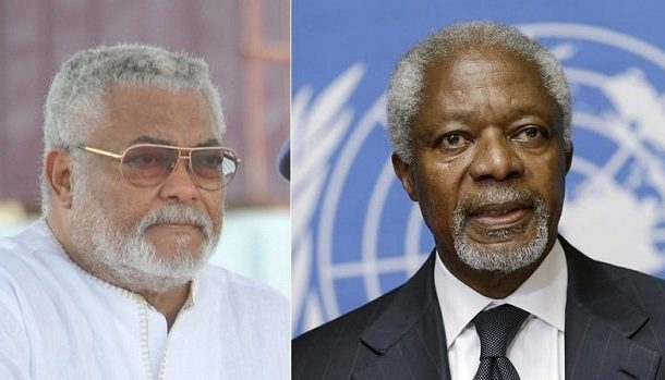 Annan's election as Secretary-General was a diplomatic coup d'état – Rawlings