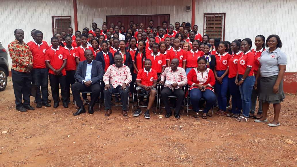 Ghana Red Cross outdoors a new Ambassador