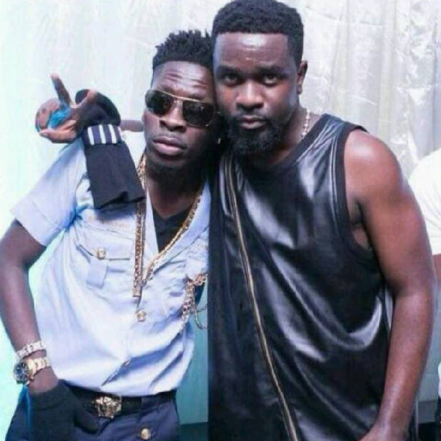 Shatta Wale reacts to fans of Sarkodie