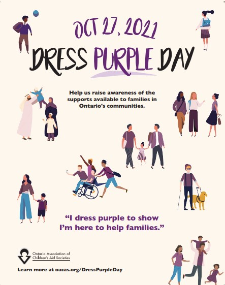 Today is Dress Purple Day