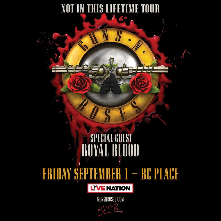 Guns N' Roses Reveal Tour Support, Add Dates