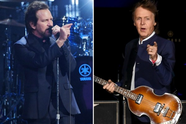 """""""Paul McCartney Just Hit Me In the Face And It Hurt!"""" ~ Eddie Vedder"""