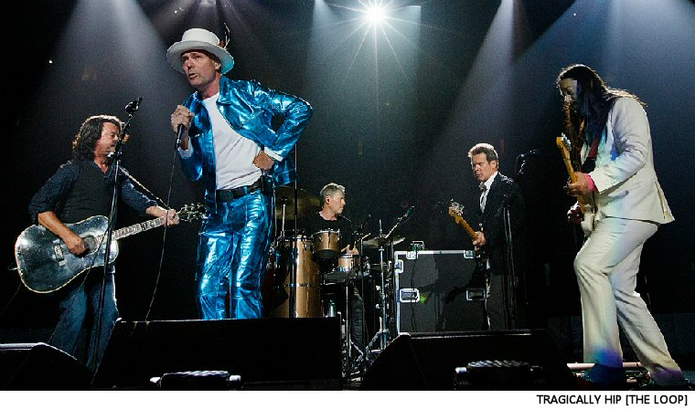 The Tragically Hip Tour Documentary Gets A Title (No, Not That One)