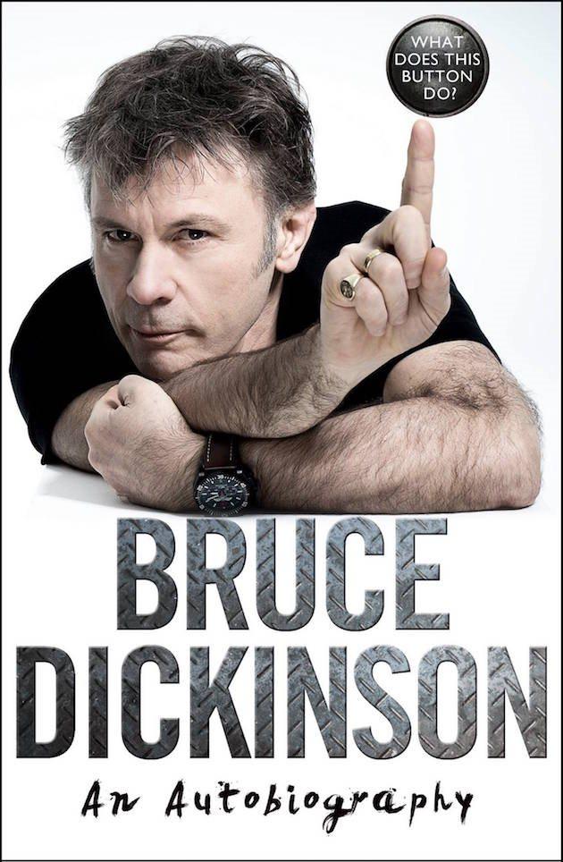 Iron Maiden Singer Bruce Dickinson's Memoir
