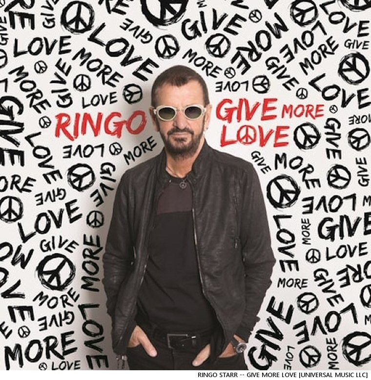 Here Comes Another One From Ringo Starr's New Album