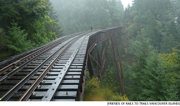 Ditch The Rails, Go With Trails, Says Vancouver Island Group