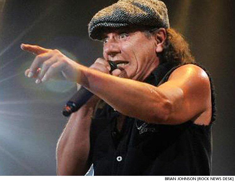 Brian Johnson:  Rockin' And (Literally) Rollin'