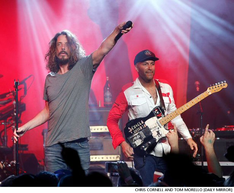 Tom Morello:  Another Audioslave Reunion Was On The Drawing Board When Chris Cornell Died