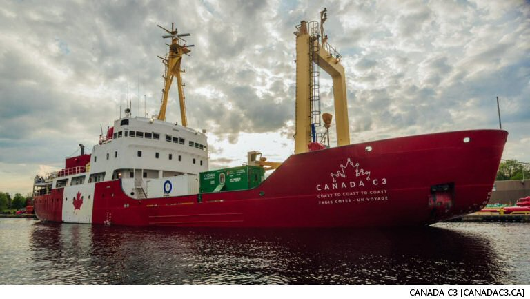 Canada C3 Arrives In Victoria Safe 'n Sound