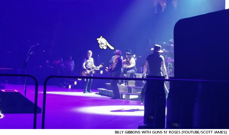 You Just Never Know Who'll Show Up On Stage At A Guns N' Roses Concert