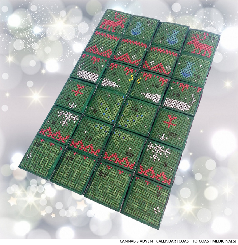 Health Officials On Cannabis Advent Calendars: Weed Better Take A Closer Look