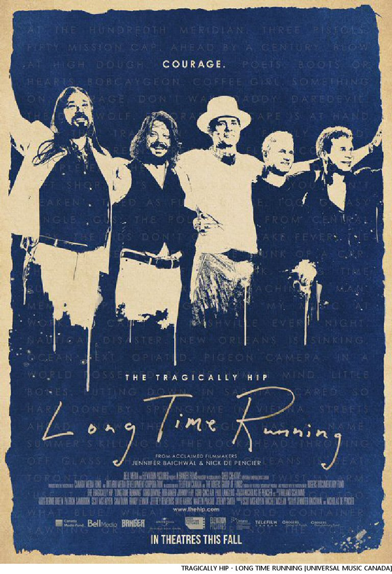 The Tragically Hip Long Time Running Documentary Comes To Home Media
