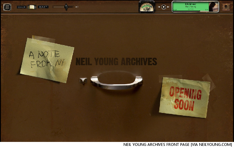 Neil Young Prepares To Make All Of His Music Free. ALL Of It, Jerry (Well, Temporarily, Anyway)