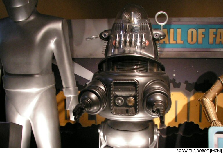 Robby The Robot: Something Is Approaching From The Southwest. Oh, Never Mind. It's Just The Bonhams Auction Where They're Selling Me Off
