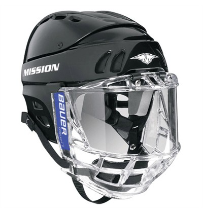 full face protection mandatory at the Junior B level hockey