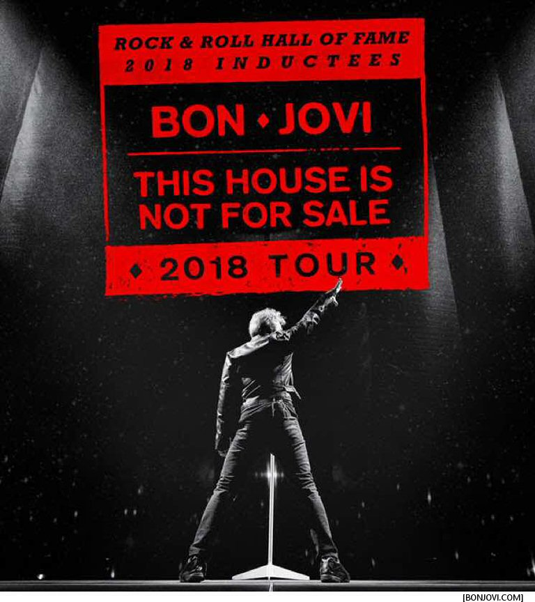 Bon Jovi Fire Up Their Steel Horses And Hit The Concert Trail Again This Year