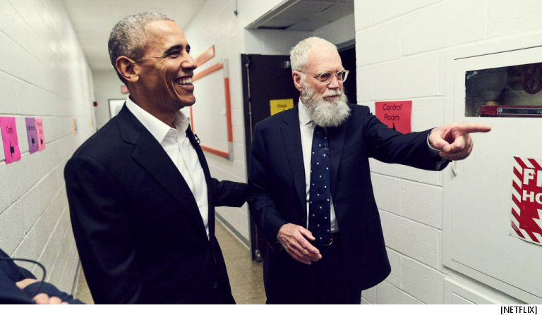 We Now Know The Name Of David Letterman's New Netflix Show, Which Is One Week Away
