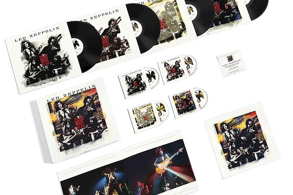 Led Zeppelin reissue live album, first time on vinyl