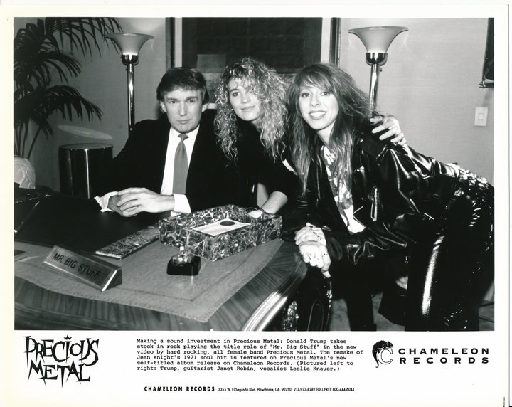 Hairband Weekend: that time Donald Trump filmed a 1991 Hair Metal video
