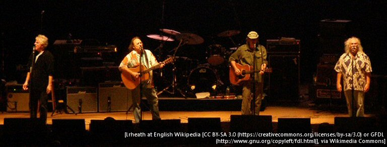 Crosby, Stills, Nash And Young: Their Shared Dislike For #45 Could Spur A Reunion, Says Crosby