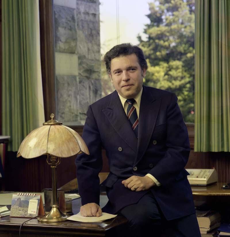 obit: former B.C. premier Dave Barrett, 87