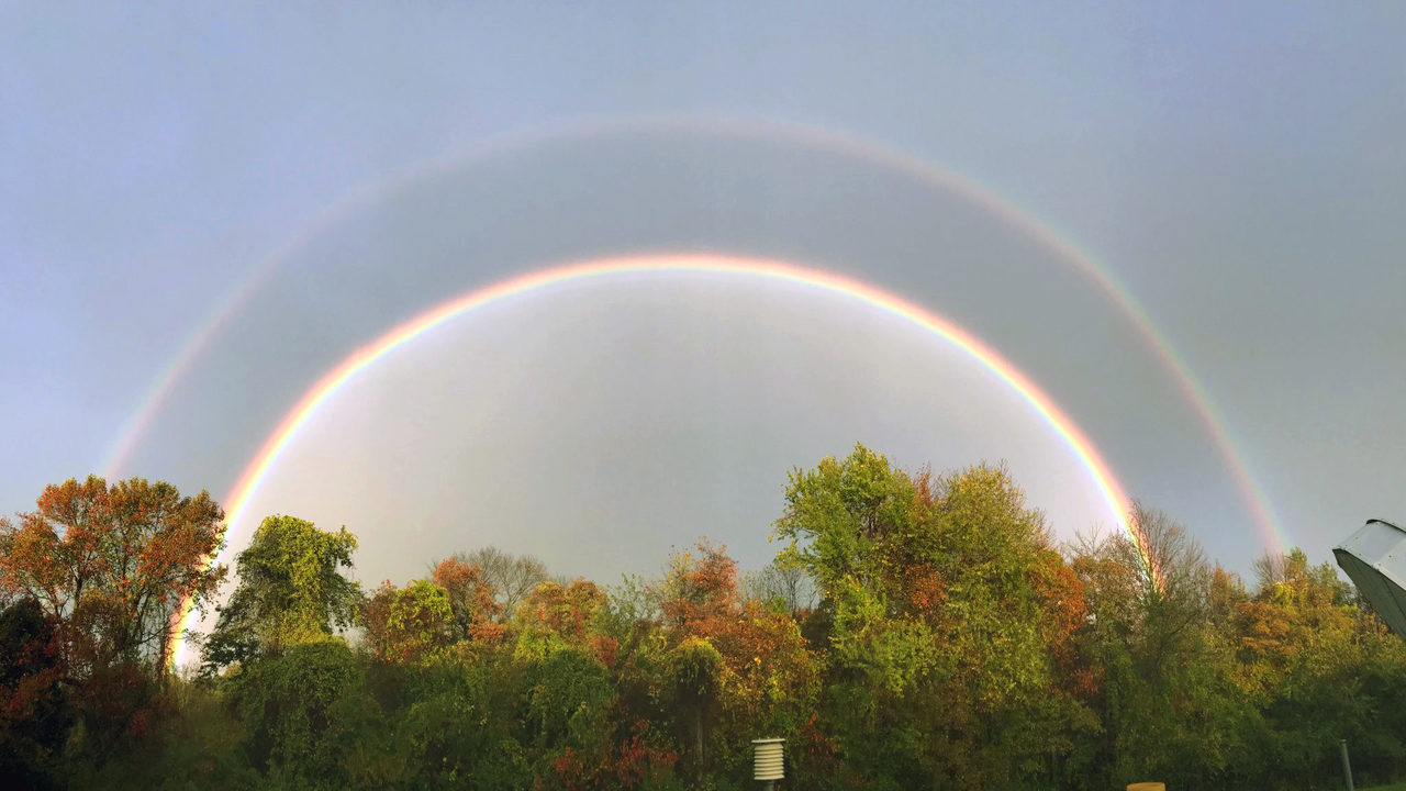 Best of YouTube: 'Double Rainbow' (what does it mean?)