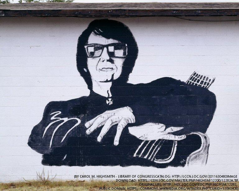 The Late Roy Orbison Prepares To Go On Tour