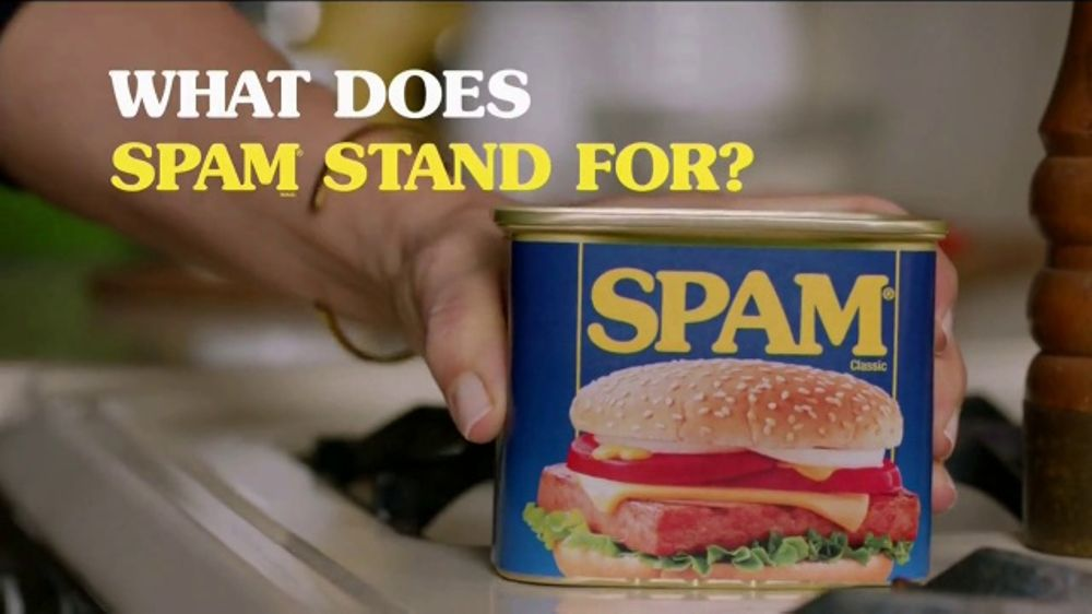 Did you see that Spam® commercial during Super Bowl?