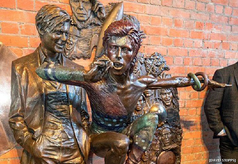 The World's First David Bowie Statue Has Already Been Vandalized Because Of Course It Has