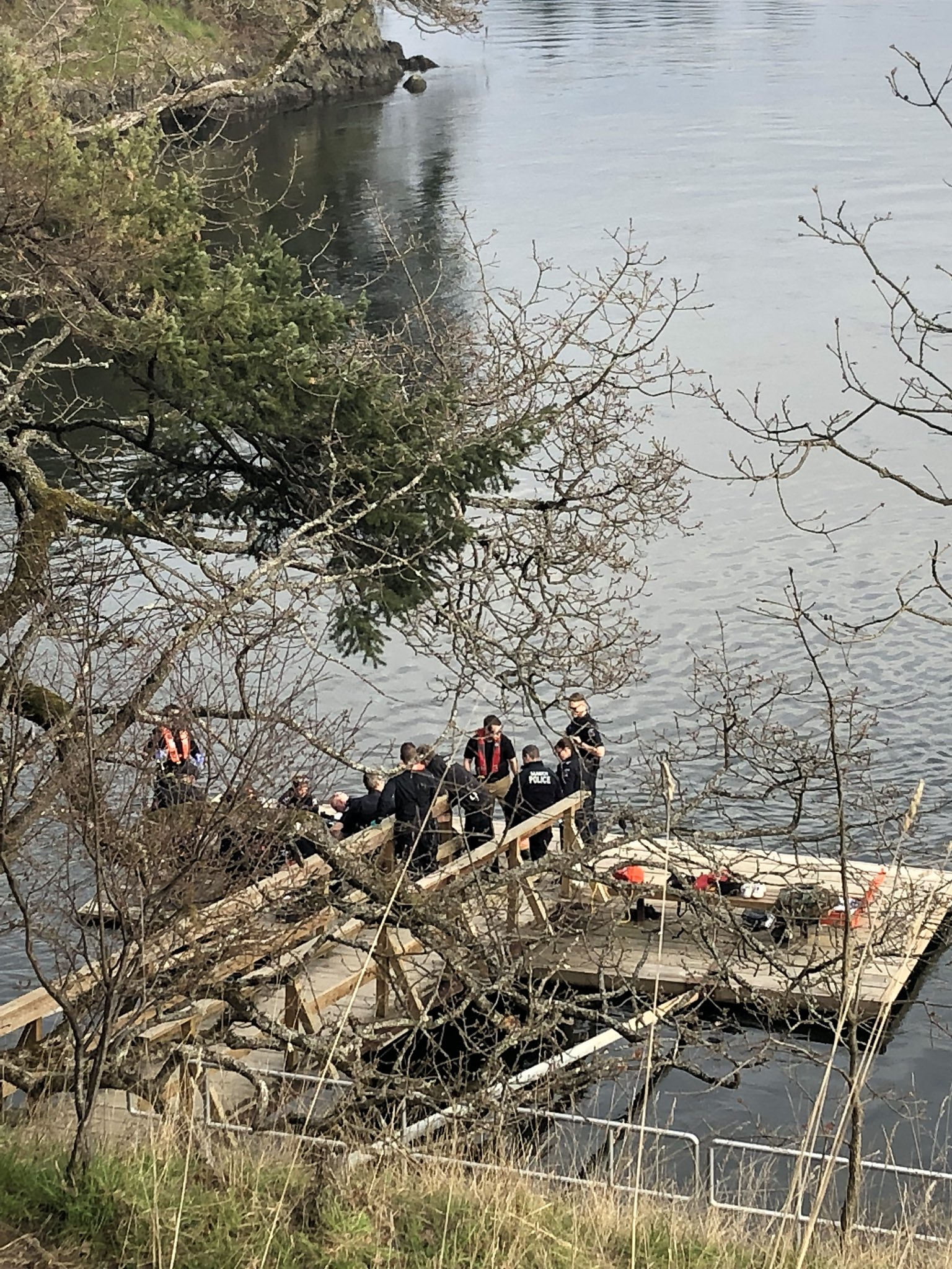 Gorge Bridge rescue operation