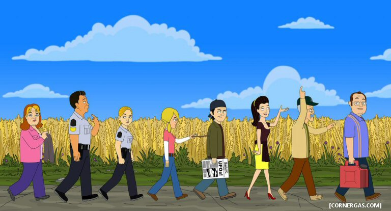 Corner Gas Is Back, And It Has Something In Common With The Simpsons And Family Guy Now