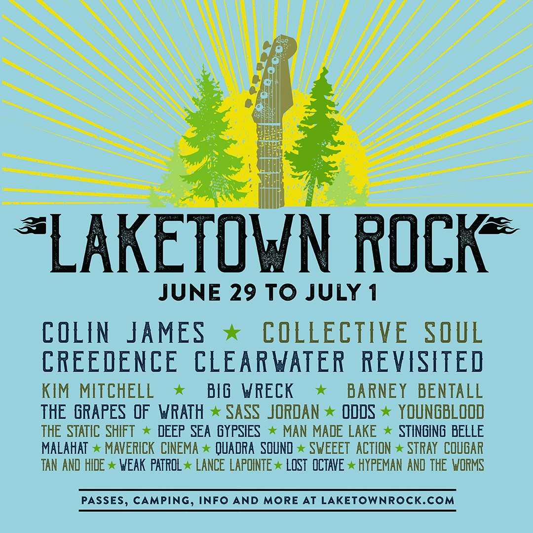100.3 The Q! is proud to Present: Laketown Rock!