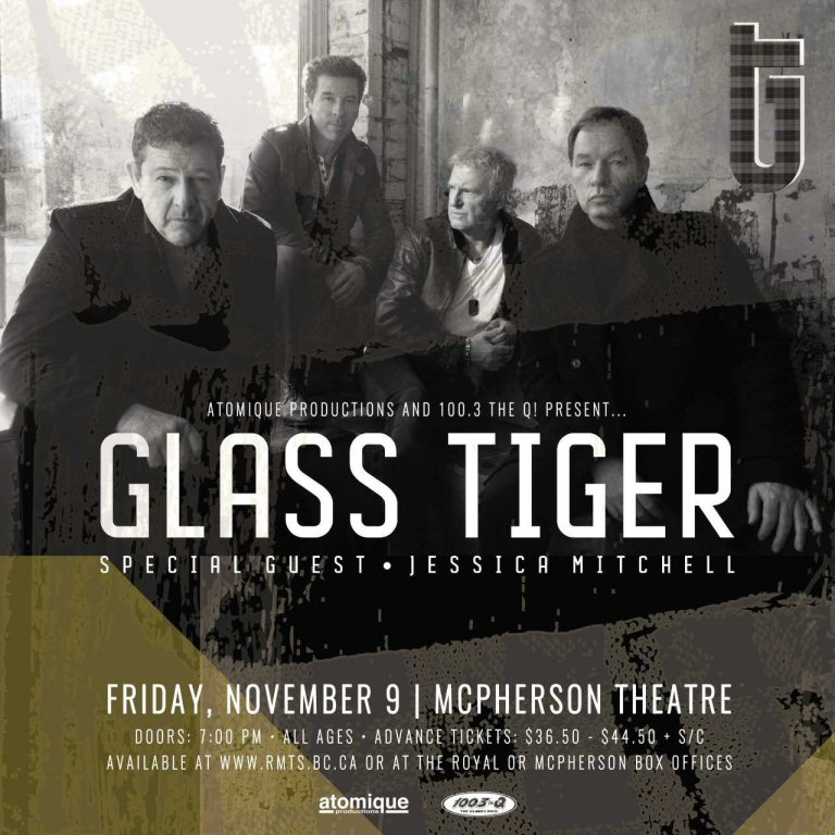 The Q Presents Glass Tiger This Autumn