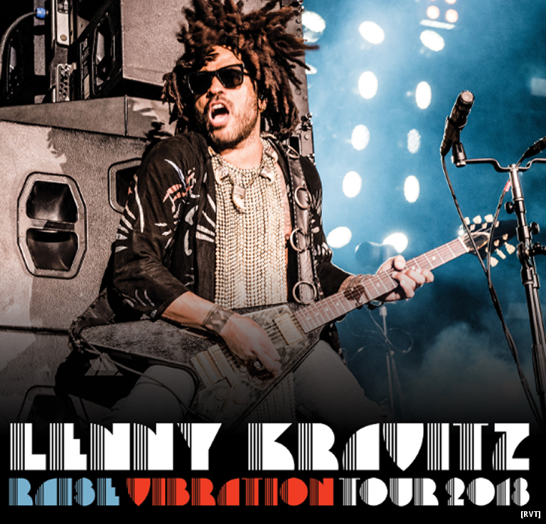 Where The Hell Is Lenny Kravitz? Oh, There He Is