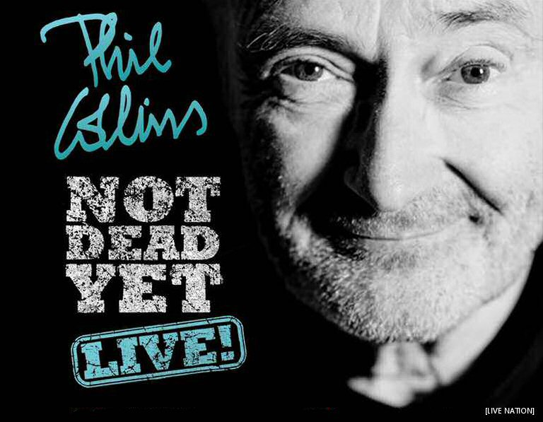 Phil Collins Hits The Road On A North American Tour With Two Canadian Dates